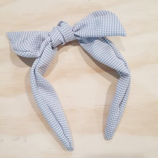 Little Ellie Hand Made Kids Headband - Light Grey